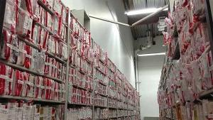 Backlogged rape kits in property storage