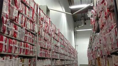 Backlogged rape kits in property storage