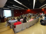 Natasha speaking to a group of students at SUNY Stony Brook University. March 2012.