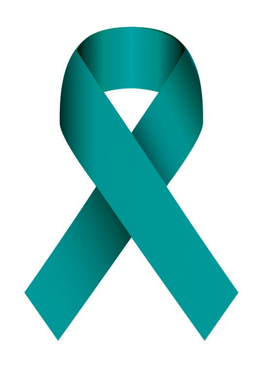 Teal Ribbon for Sexual Assault Awareness