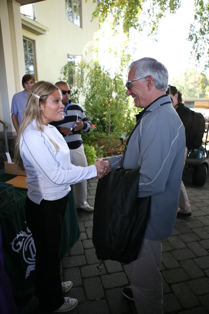 Natasha Alexenko and Bobby Valentine
