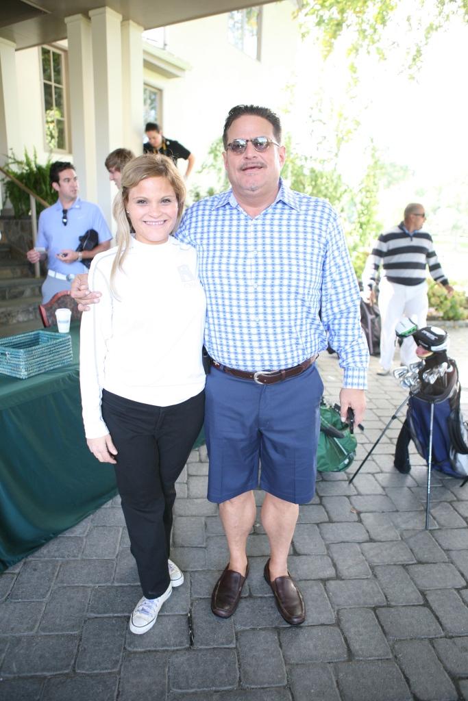 Natasha Alexenko and Anthony Lanza
