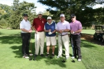 MLB Legend and Pro Golfer Rick Rhoden with Golf Foursome