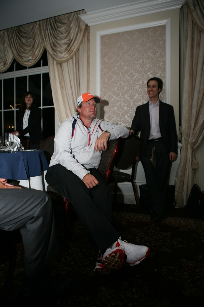 Jeremy Roenick and Magician Matt Furman